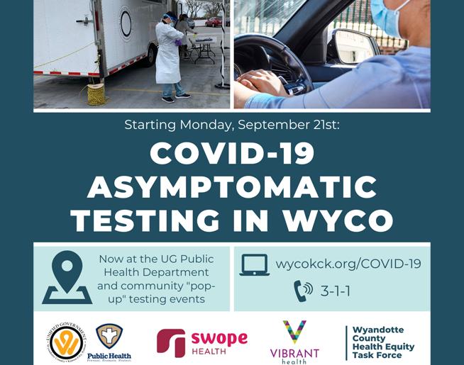Free COVID-19 Testing in WYCO
