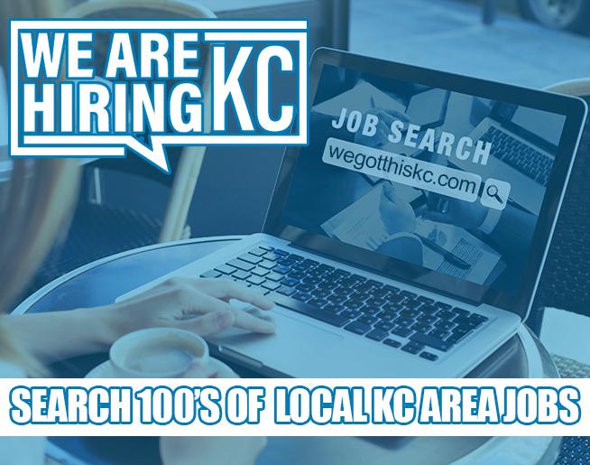 100's of Jobs at WeGotThisKC.com