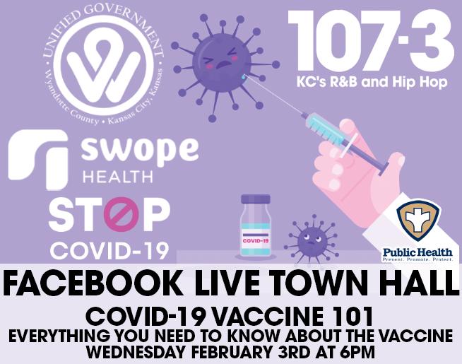 COVID-19 Vaccine 101 Virtual Town Hall