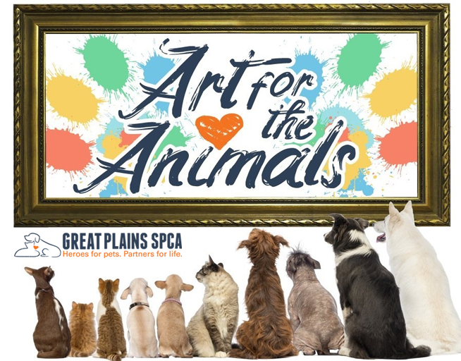 Art for the Animals // Great Plains SPCA