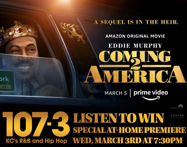 Coming 2 America – Virtual Premiere