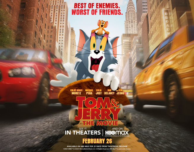 Tom & Jerry: The Movie opens Feb. 26