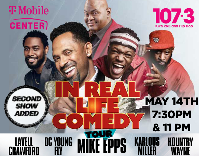 """""""In Real Life"""" Comedy Tour"""