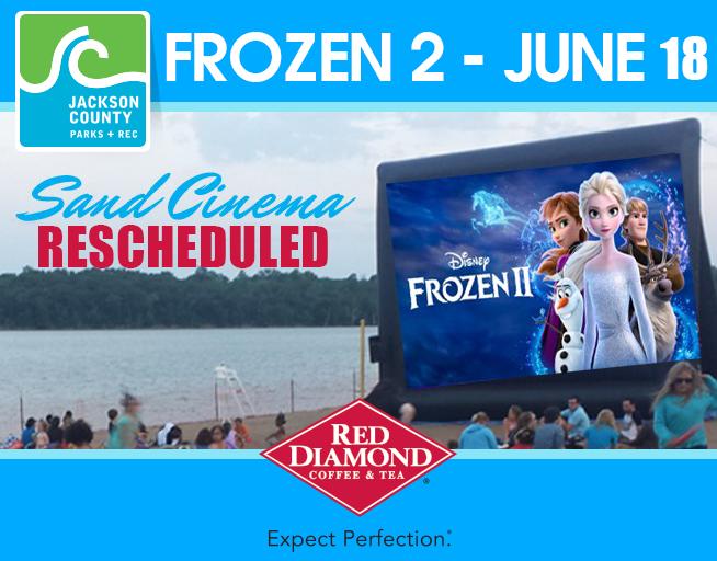 Sand Cinema – Frozen 2 – RESCHEDULED
