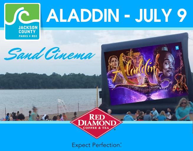 Sand Cinema – Aladdin – July 9
