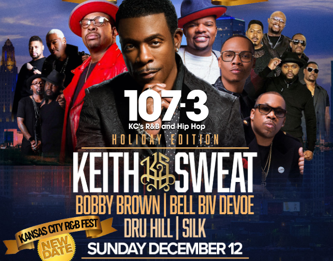 THE R&B FEST CONCERT HAS BEEN RESCHEDULED TO DECEMBER 12TH