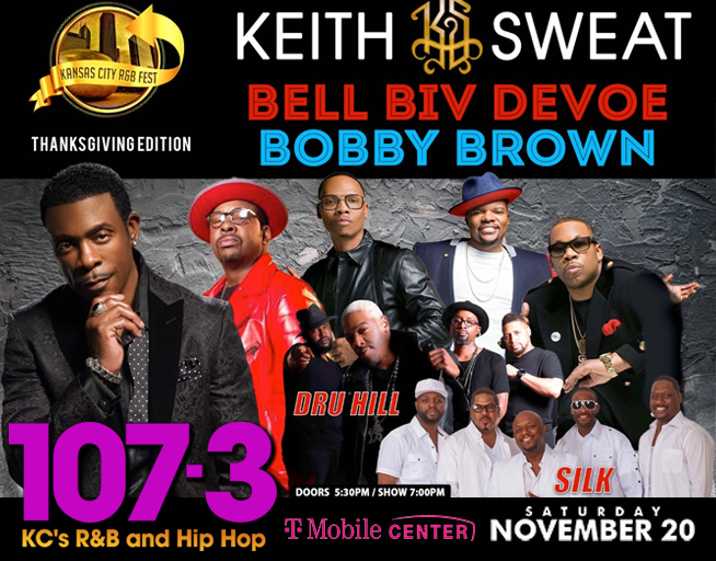 KC R&B FEST – Keith Sweat, Bell Biv Devoe, Bobby Brown