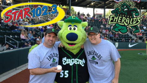 Were giving away tickets to EM'S home games for the Summer of STAR 102.3