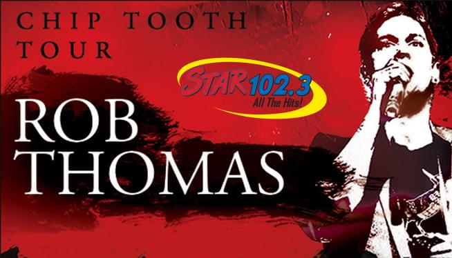 See Rob Thomas In Portland