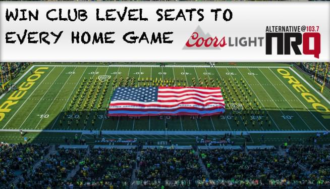 Win Club Level Tickets To Every Oregon Home Game