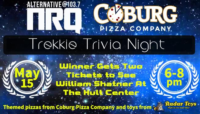 KNRQ's Trekkie Trivia Night