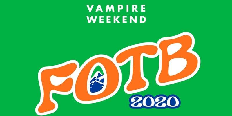 Vampire Weekend: Father of The Bride Tour Aug. 9th