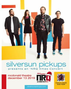 NRQ's X-Mas Concert with The Silver Sun Pickups 12/13