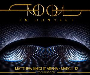 TOOL In Concert Mar. 12th @ Matthew Knight Arena