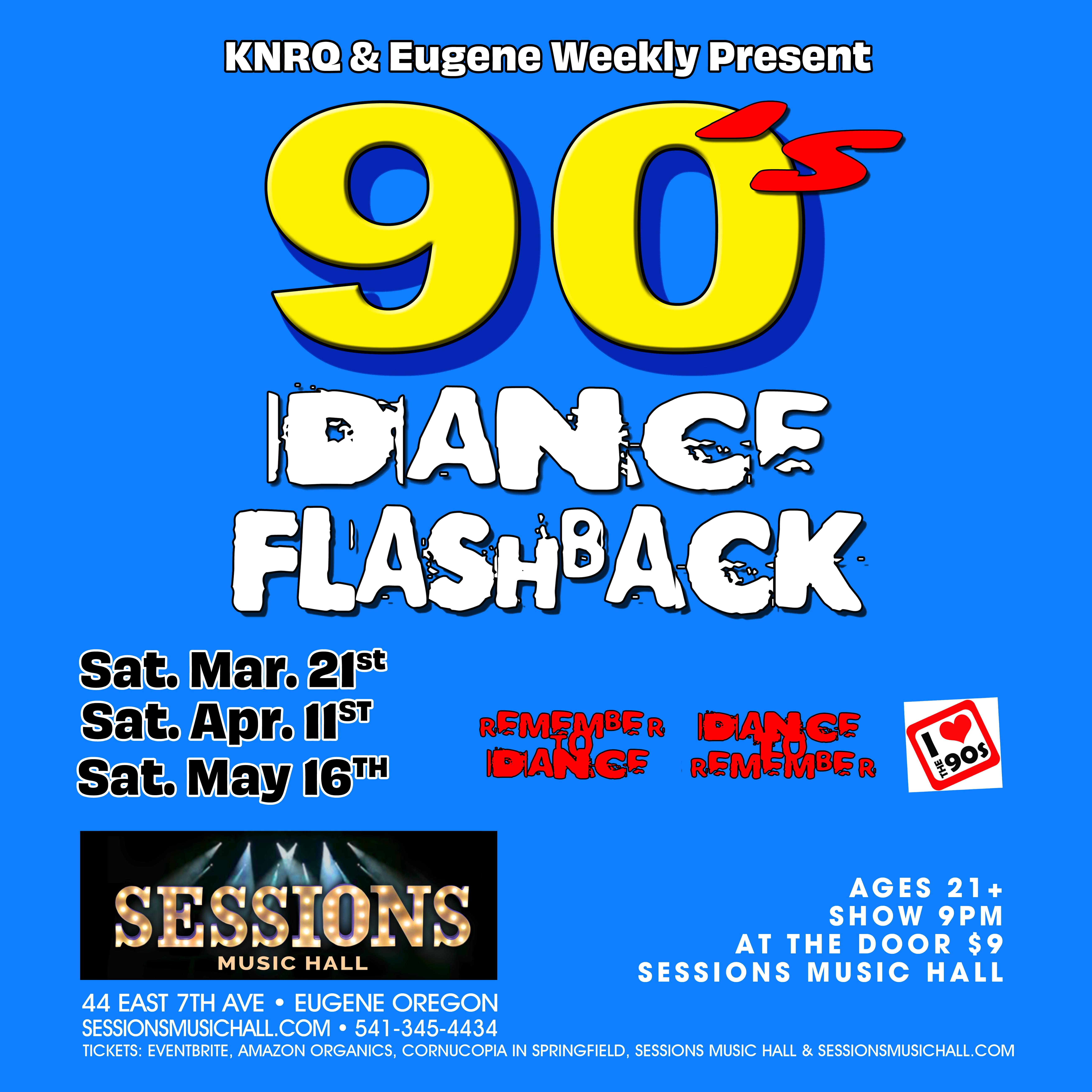 90's Video Dance Flashback Party April 11th @ Sessions