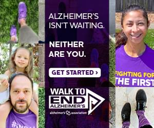 Walk to End Alzheimer's – OCT. 11TH!