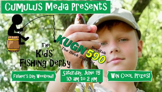 KUGN Kids' Fishing Derby