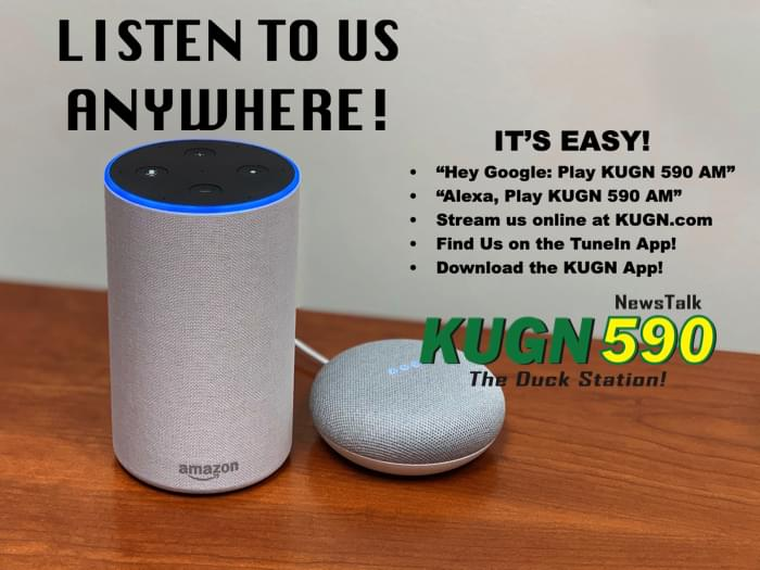 Take KUGN With You Wherever You Go!