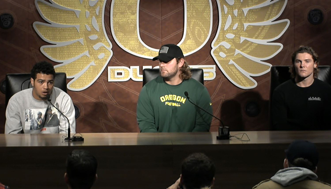Oregon Players React To Helfrich Getting Fired