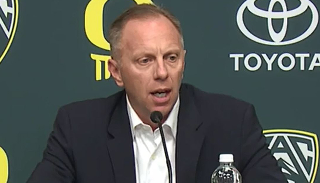 Oregon AD Rob Mullens Talks About Firing Mark Helfrich