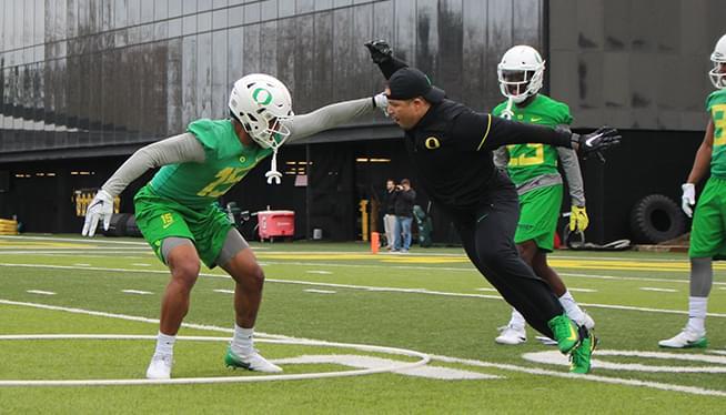 Oregon Football Spring Camp Report 3-9-18