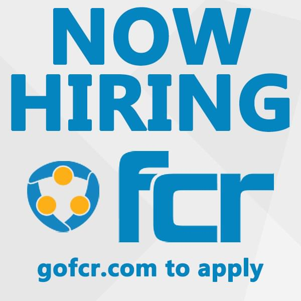 FIND A NEW CAREER WITH FCR