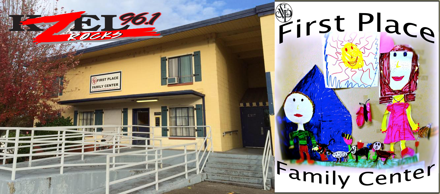 KZEL ALL DAY  AT FIRST PLACE FAMILY CENTER 12/05/19 8AM – 5PM