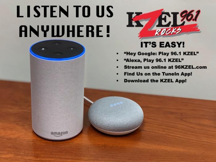 Keep Rocking with KZEL Anywhere You Go!