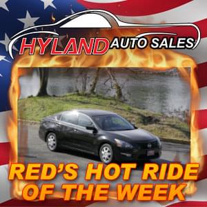 RED'S HOT RIDE OF THE WEEK