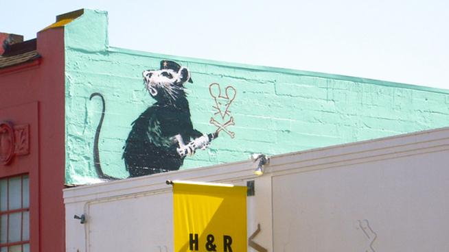 """Haight Street Rat"" revealed to be Banksy copycat"