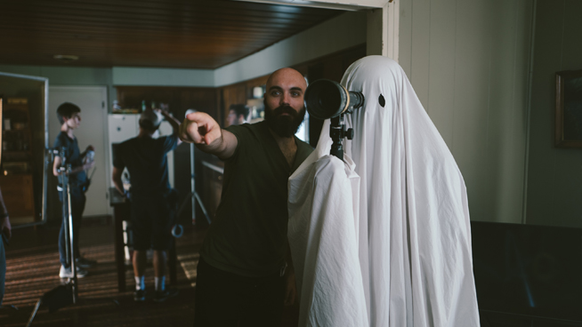 Dayna talks with 'A Ghost Story' filmmaker David Lowery