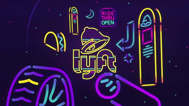 Lyft and Taco Bell partner up for late night munchie pit stops