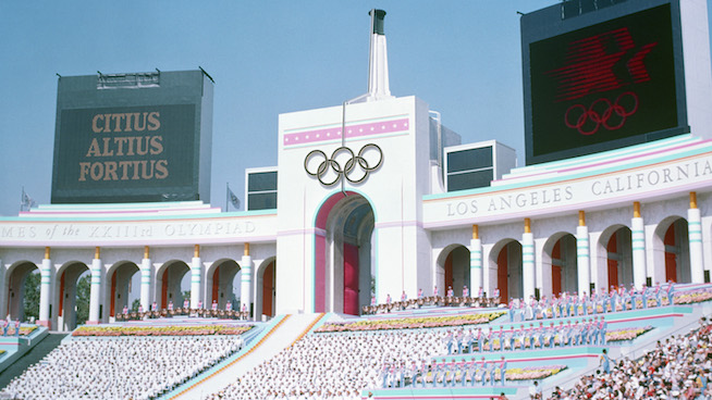 The Summer Olympics are coming back to California in 2028