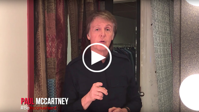 Paul McCartney, Bono, Ryan Tedder advocate action on climate change