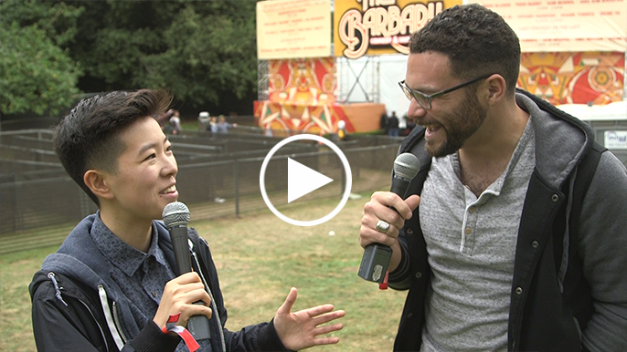 Inside Outside Lands: Comedian Irene Tu thinks she'll die first in the apocalypse