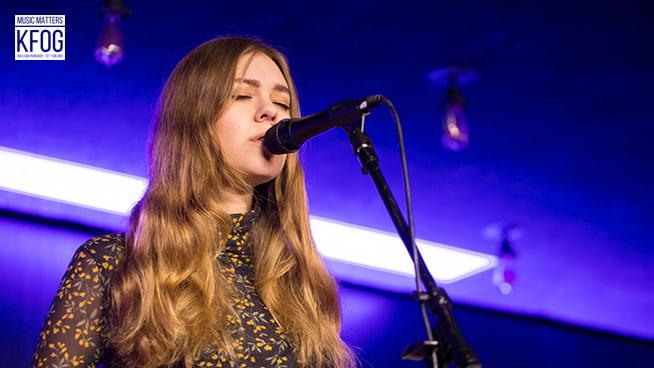 "KFOG Private Concert: First Aid Kit – ""Postcard"""