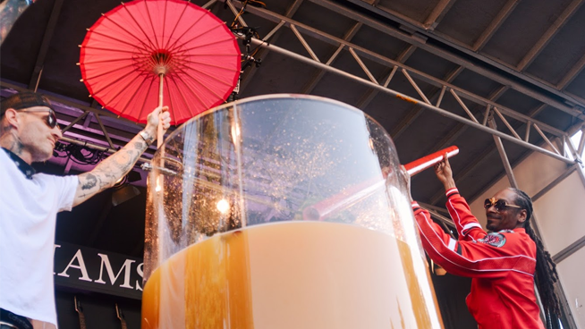 Snoop Dogg's Paradise Cocktail breaks record for largest Gin & Juice at Bottlerock