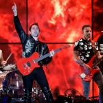 "Muse debuts futuristic video for new single ""Something Human"""