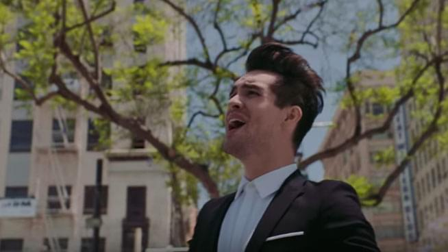 """Brendon Urie Pleads with Fans: """"Please Stop Kissing Me at Shows"""""""