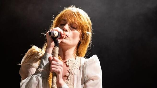 florence welch performs at outside lands