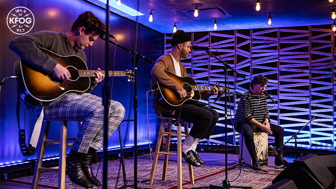 "KFOG Studio Session: lovelytheband – ""these are my friends"""