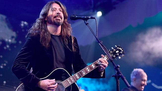 Dave Grohl invites blind 10-year-old fan on stage to play 'La Dee Da'