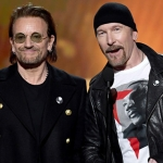 Bono and The Edge busked on Christmas Eve for charity for the homeless