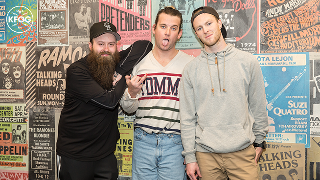 KFOG Studio Session: Judah + The Lion – Gallery