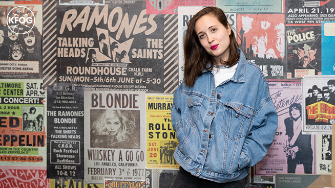 KFOG Studio Session: Alice Merton- Gallery