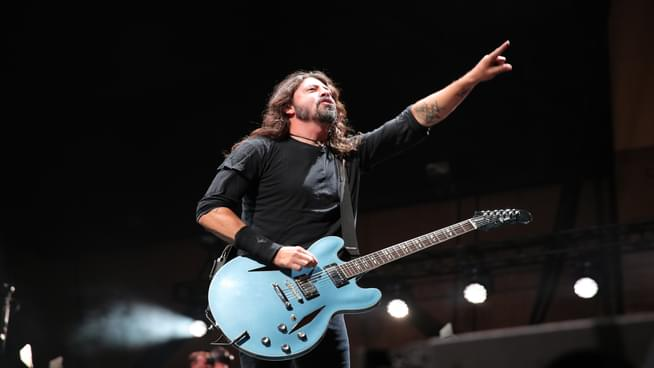 Watch Dave Grohl Invite Crowdsurfing Fan In Wheelchair On Stage