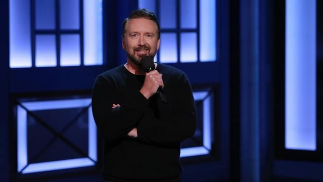 LISTEN: Comedian Chad Daniels tells Arthur about how he unintentionally became a comic