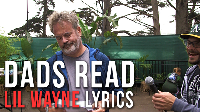 Dads read Lil Wayne lyrics at Outside Lands