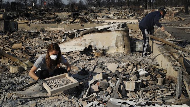 How the IRS is helping victims of the California wildfires