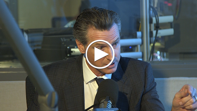 Newsom on KGO: Real test of Trump's response to North Bay fires has yet to come